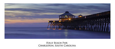 Folly Beach Pier Charleston Sc Poster