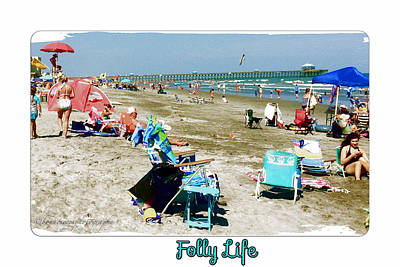 Folly Life  Poster by Bonnes Eyes Fine Art Photography