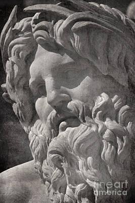 Fontana Dei Quattro Fiumi - River Ganges Poster