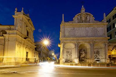 Fontana Dell'acqua Felice Poster