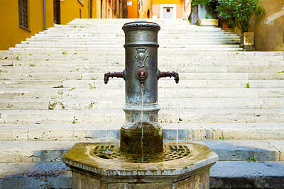 Fontana Delle Tre Cannelle Poster