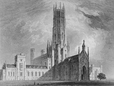 Fonthill Abbey From The North-west Poster by English School