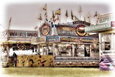Tasty Carnival Delights Poster by Spencer McDonald