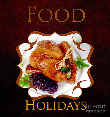 Food Holiday Gallery Poster by Iris Richardson