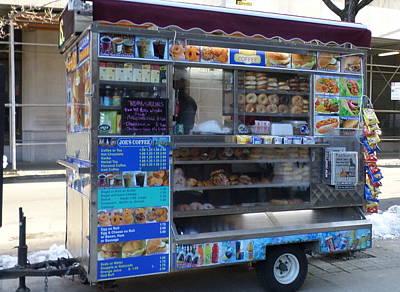 Food Vendor Truck Poster