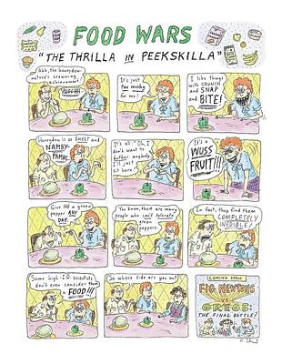 Food Wars: Thrilla In Peekskilla Poster