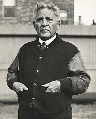 Football Coach Alonzo Stagg Poster by Underwood Archives