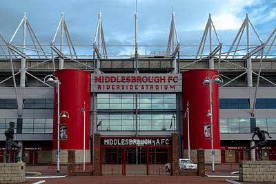 Football Stadium - Middlesbrough Poster