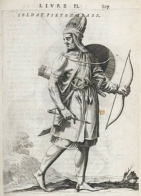 Footsoldier Of The Emir Fechrreddin Poster by British Library