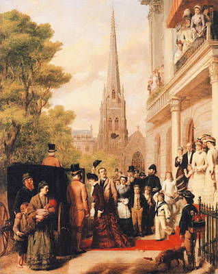 For Better For Worse Poster by William Powell Frith