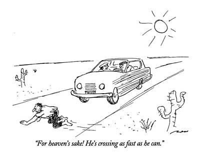 For Heaven's Sake Poster by Al Ross