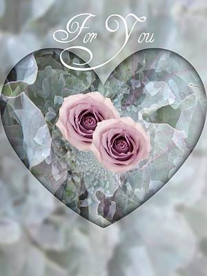 For You Poster by Shirley Sirois