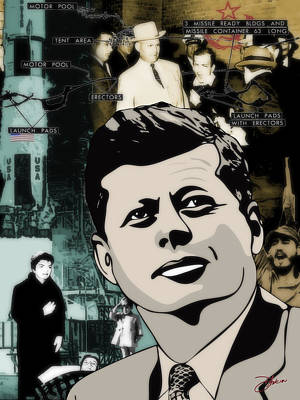 For Your Country John F. Kennedy Poster by Dancin Artworks