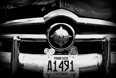 Ford 4 Poster by Amanda Stadther