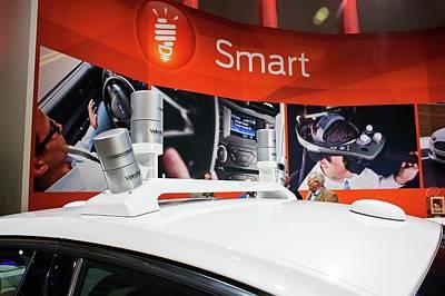 Ford Autonomous Drive Vehicle Poster by Jim West