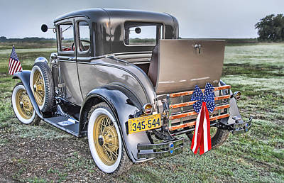 Poster featuring the photograph Ford Classic by Dyle   Warren