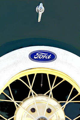 Ford Classic Model A Poster by Elena Nosyreva