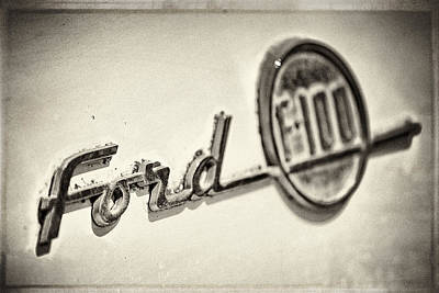 Ford F-100 Poster by Caitlyn  Grasso