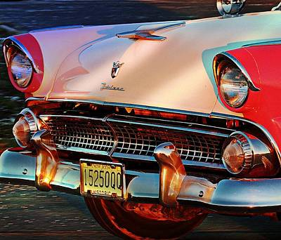 Poster featuring the photograph Ford Fairlane by Allen Beilschmidt