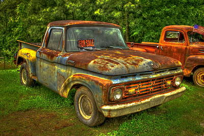 1962 Ford Pickup Truck F Series Fourth Generation  Poster