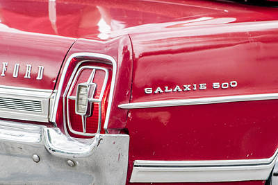 Ford Galaxie  Poster
