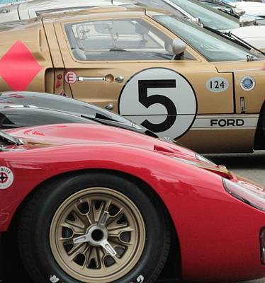 Ford Gt 40's Poster