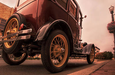 Ford Model A - Classic Car - Antique Poster by Jason Politte