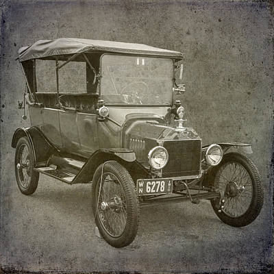 Ford Model T Poster by Angie Vogel