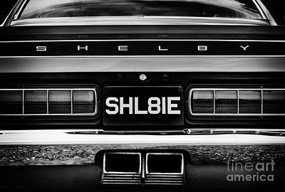 Ford Shelby Mustang Gt350 Poster by Tim Gainey