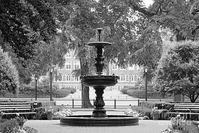 Fordham University Fountain Poster