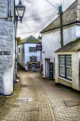 Fore Street Port Isaac Poster