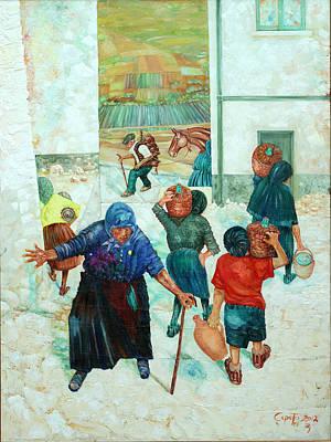 Forenza Vita Poster by Giovanni Caputo