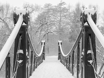 Forest Park Victorian Footbridge Poster