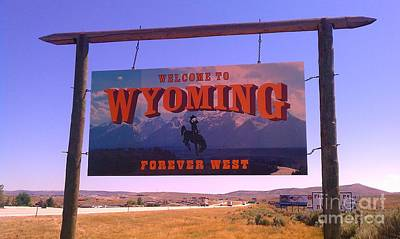 Poster featuring the photograph Forever West by Chris Tarpening