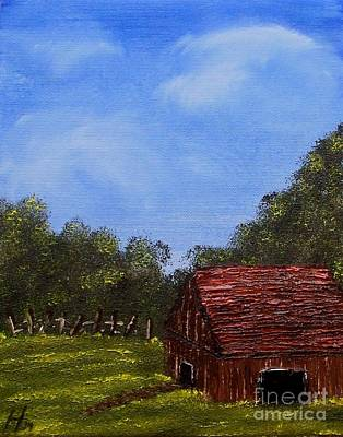 Forgotten Barn Poster by Nature's Effects - Heather Seward