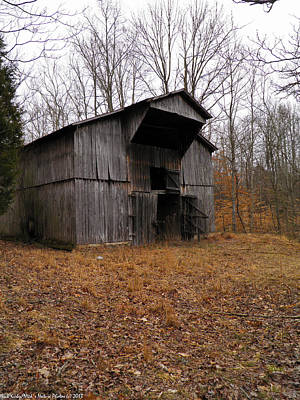 Poster featuring the photograph Forgotten Barn by Nick Kirby