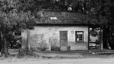 Forgotten - Black And White Poster