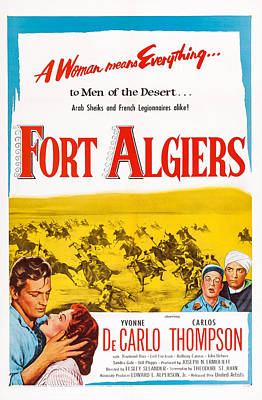 Fort Algiers, L-r Carlos Thompson Poster by Everett