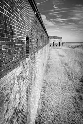 Poster featuring the photograph Fort Clinch II by Wade Brooks