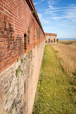 Poster featuring the photograph Fort Clinch by Wade Brooks
