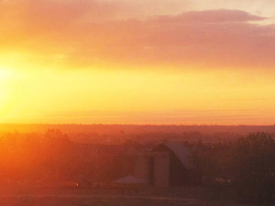 Fort Collins Sunrise Poster