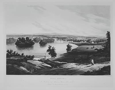 Fort Edward No. 10 Of The Hudson River Poster