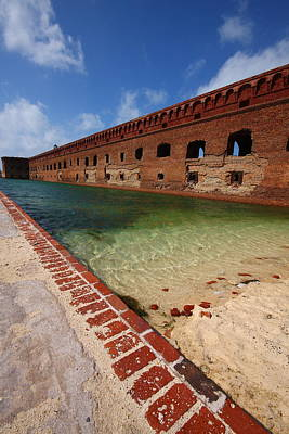 Fort Jefferson At Dry Tortugas National Park Poster by Jetson Nguyen