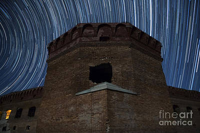 Fort Jefferson Nights Poster by Keith Kapple