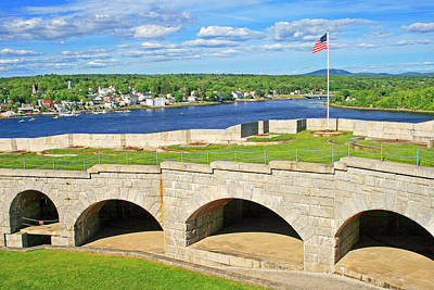 Fort Knox In Maine Poster
