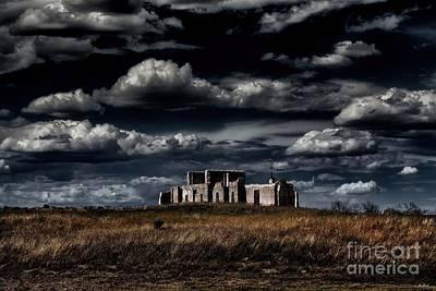 Fort Laramie Hospital Ruins Poster by Jon Burch Photography