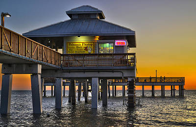 Fort Myers Beach Pier 4 Poster