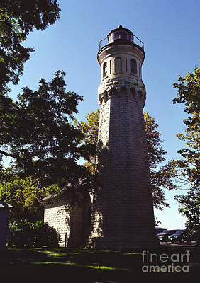 Poster featuring the photograph Fort Niagara Lighthouse by Tom Brickhouse