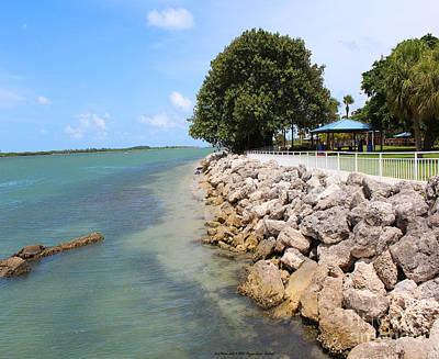 Fort Pierce Inlet Poster