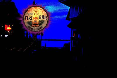 Fort Pierce Tiki Bar Poster